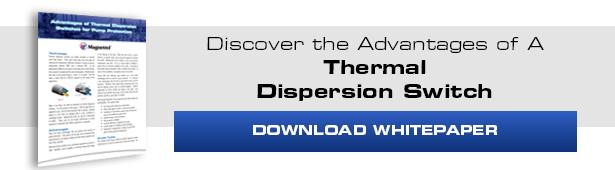 thermal dispersion switch