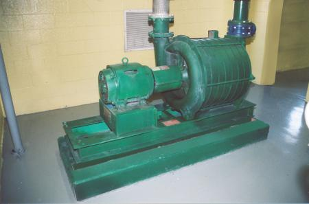 Centrifugal pump protection